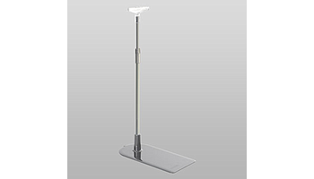 SILVER 2 stand with plastic base