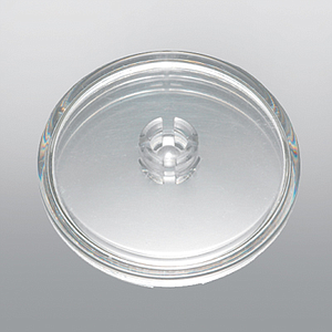 CLEAR-GRIP MINI ROUND BASE, 30 MM  D,TRANSPARENT