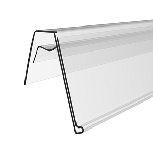 KE PROFILE, 39X1000 MM, MECHANICAL FIXING ON WIRES, 25 DEGREES ANGLE, WITHOUT GRIP