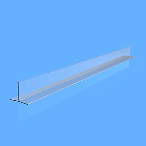 "EXTRUDED DIVIDER ""T"", 125X57X750 MM"