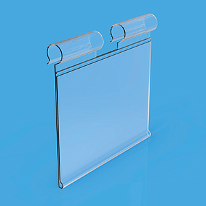 LABEL HOLDER, 26x100 MM, FOR MAX 8 MM HOOKS DIAMETER