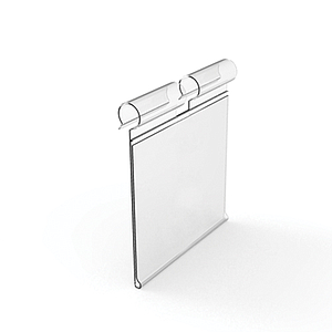 LABEL HOLDER, 30X70 MM, FOR MAX 6 MM HOOKS DIAMETER