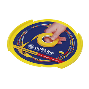 PLASTIC ROUNDED CASH TRAY, 170X16 MM (DXH), STICKER PRINT SIZE WITH 145 MM DIAMETER