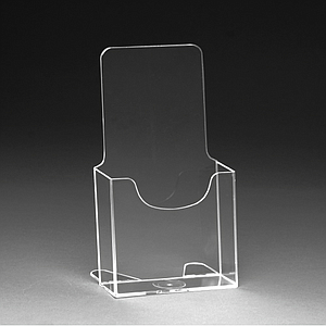 PLASTIC LEAFLET DISPENSER 1/3 A4P, USABLE BASE DIMENSION 113X39,5 MM