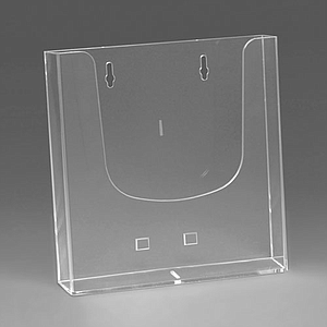 WALL PLASTIC LEAFLET DISPENSER A4P, USABLE BASE DIMENSION 230 X 37 MM