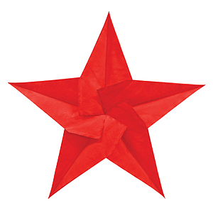 CHRISTMAS STAR ORNAMENT, 450 MM HEIGHT