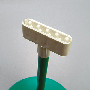 LABEL HOLDER L 30 MM, FOR 0,5 MM THICKNESS, FIXING ON 7 MM D TUBES