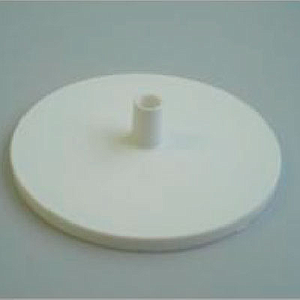 PLASTIC BASE 90 MM D, FOR 7 MM D TUBES, WITHOUT STEEL INSERT
