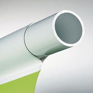 PLASTIC TUBE, 18, 5 MM D, 700 MM LENGTH, UNSLOTTED