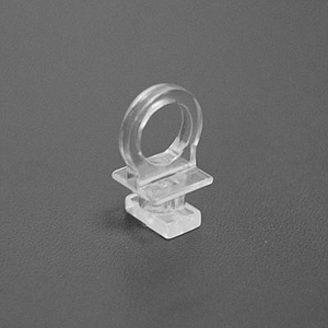 PLASTIC HANGING RING FOR DISPLAYS, SUITABLE WITH ALUMINIUM PROFILES LPM 025-4760 AND LPM 028-4760