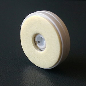 ROTATING PLATE, D 22 MM, WITH ADHESIVE