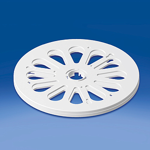 ROTARY DISK D 200 MM, H 12,8 MM, WITHOUT ADHESIVE