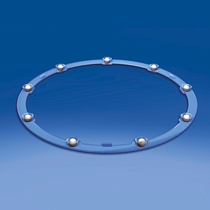 PLASTIC BEARING, D 194,4 MM, H 7,92 MM, WITH METAL BALLS