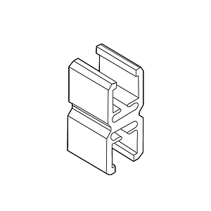 FRAME CONNECTOR FIXED, FOR FRAMES OF THE SAME SERIES - 2