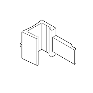 ADAPTOR PARALLEL FOR MAGNETIC FASTENER, FOR FRAMES SERIES 1