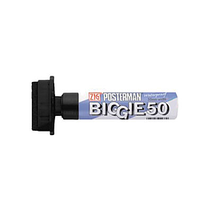 ZIG POSTERMAN BROAD MARKER, 50 MM TIP THICKNESS
