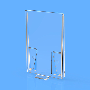 REAR ACCESSORY WITH MOUNTING ON PUSHER, 75X80 MM