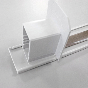 SLIDING PROFILE, 30 MM WIDTH, WITHOUT PERFORATION, 1000 MM LENGTH