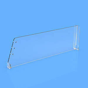 DIVIDER 120X405 MM (HXL), WITH A FIXING POINT