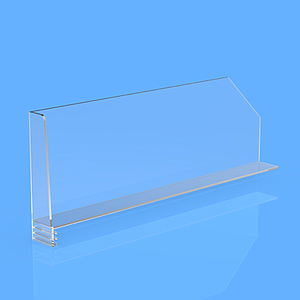 "DIVIDER 100X300 MM, WITH ""L"" FRONT RIGHT 27/20X100 MM, WTHOUT FIXING POINTS"