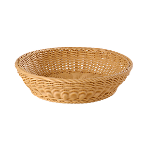 BRAIDED ROUND BASKET, 370X90 MM (DXH)