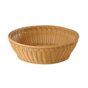 BRAIDED ROUND BASKET, 420X120 MM (DXH)