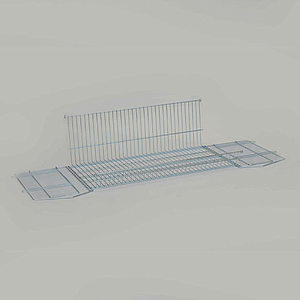 METAL BASKET, 640X500X300 MM (LXWXH)