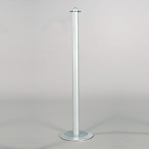 BARRIER OF PERIMETER DELIMITATION FOR TEXTILE CORD, 940 MM HEIGHT, 240 MM DIAMETER BASE
