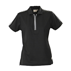 HURDLES LADIES POLO PIQUE, 55% COTTON, 45% POLYESTER