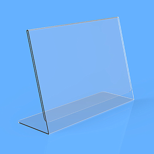 POSTER HOLDER L, A4L, 2 MM THICKNESS