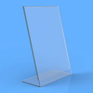 POSTER HOLDER L, A4P, 2 MM THICKNESS