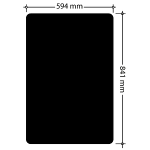 CHALK BOARD, 0,5-1 MM THICKNESS, A1