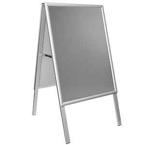 PEOPLE STOPPER, 25 MM ALUMINUM FRAMES, A1, 1200 MM HEIGHT, PVC AR COVER