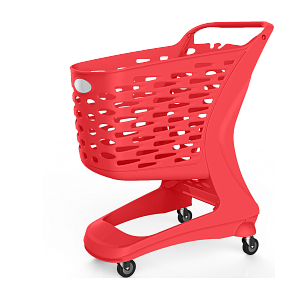 SHOPPING CART 80 L WITHOUT COIN LOCK