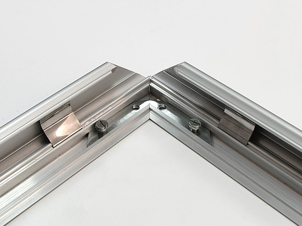 ALU-SNAP TYPE FRAME WITH MITRED CORNERS, 500X700 MM, 32 MM PROFILE